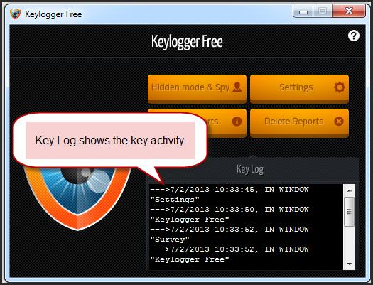 Run Keylogger Free